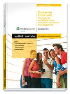Imagen de Educación emocional. Programa de actividades para Educación Secundaria Postobligatoria (2.ª Edición)