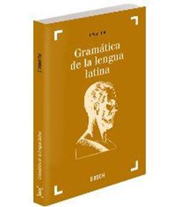 Imagen de Gramática de la lengua latina