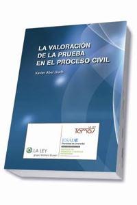 Imagen de La valoración de la prueba en el proceso civil