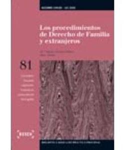 Imagen de Los procedimientos de derecho de familia y extranjeros