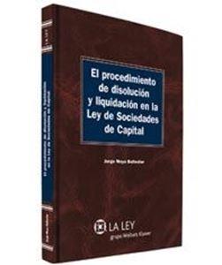 Imagen de El procedimiento de disolución y liquidación en la Ley de Sociedades de Capital