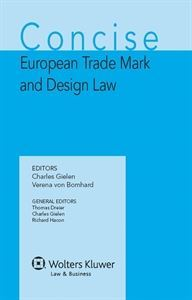 Imagen de Concise European Trademark and Design Law