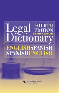 Imagen de English-Spanish and Spanish-English Legal Dictionary