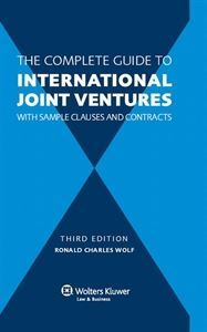 Imagen de The Complete Guide to International Joint Ventures with Sample Clauses and Contracts