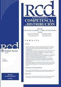 Imagen de Derecho de la Competencia y de la Distribución