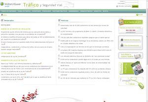 Imagen de Web de Tráfico y Seguridad Vial (laleytrafico.laley.es)