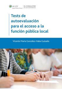 Imagen de Tests de autoevaluación para el acceso a la función pública local
