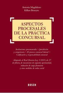 Imagen de Aspectos procesales de la práctica concursal