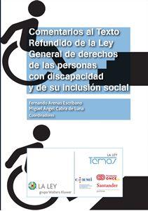 Imagen de Comentarios al Texto Refundido de la Ley General de derechos de las personas con discapacidad y de su inclusión social