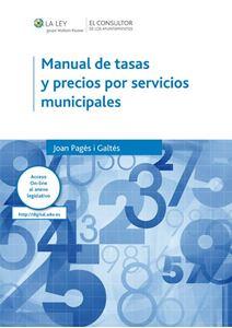 Imagen de Manual de tasas y precios por servicios municipales