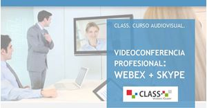 Imagen de Videoconferencia profesional: Webex + Skype