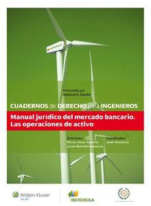 Imagen de Cuaderno 32 - Manual jurídico del mercado bancario. Las operaciones de activo
