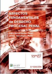 Imagen de Aspectos fundamentales de Derecho Procesal Penal. 3º edición
