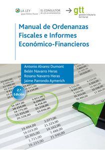 Imagen de Manual de Ordenanzas Fiscales e Informes Económico-Financieros. 2ª. Edición