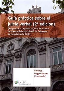 Imagen de Guía práctica sobre el juicio verbal. 2ª Edición