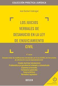 Imagen de Los juicios verbales de desahucio en la Ley de Enjuiciamiento Civil. 4ª edición