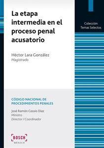 Imagen de La etapa intermedia en el proceso penal acusatorio. 2ª Edición