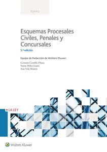Imagen de Esquemas Procesales Civiles, Penales y Concursales. 5ª Edición