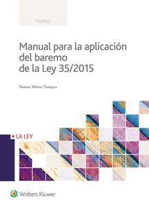 Imagen de Manual para la aplicación del baremo de la Ley 35/2015