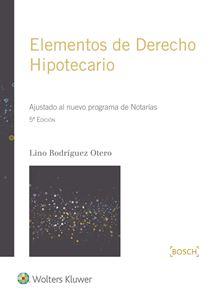 Imagen de Elementos de derecho hipotecario (5.ª Ed.)