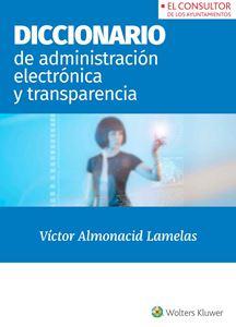 Imagen de Diccionario de Administración electrónica y Transparencia