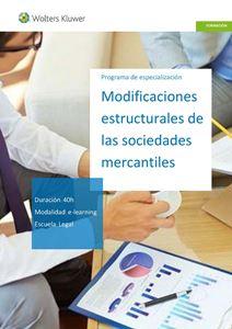 Imagen de Modificaciones estructurales de las sociedades mercantiles