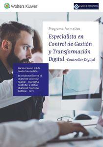 Imagen de Especialista en Control de Gestión y Transformación Digital (Controller Digital)