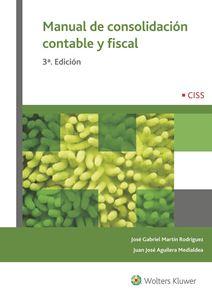 Imagen de Manual de consolidación contable y fiscal. 3ª Edición
