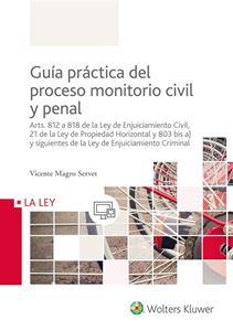 Imagen de Guía práctica del proceso monitorio civil y penal