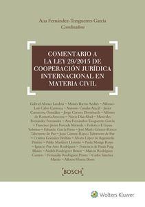 Imagen de Comentario a la Ley 29/2015 de cooperación jurídica internacional en materia civil