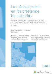 Imagen de La cláusula suelo en los préstamos hipotecarios. 3ª Edición