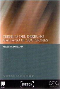 Imagen de Perfiles del Derecho italiano de sucesiones