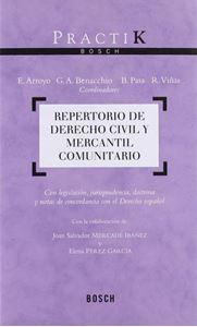 Imagen de Repertorio de Derecho Civil y Mercantil Comunitario