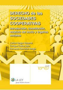Imagen de Derecho de las sociedades cooperativas. Tomo I