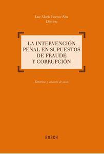 Imagen de La intervención penal en supuestos de fraude y corrupción