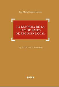 Imagen de La reforma de la Ley de Bases de Régimen Local