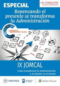 Imagen de IX JOMCAL: Repensando el presente se transforma la administración