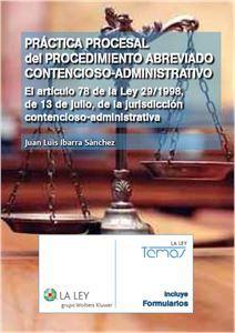 Imagen de Práctica procesal del procedimiento abreviado contencioso-administrativo