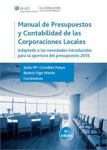 Imagen de Manual de presupuestos y contabilidad de las Corporaciones Locales. 8ª Edición