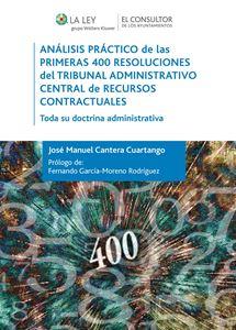 Imagen de Análisis práctico de las primeras 400 Resoluciones del Tribunal Administrativo Central de Recursos Contractuales