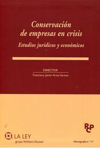 Imagen de Conservación de Empresas en crisis. Estudios Jurídicos y Económicos