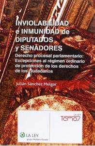 Imagen de Inviolabilidad e inmunidad de diputados y senadores