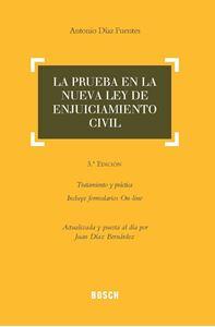 Imagen de La prueba en la Ley de Enjuiciamiento Civil (3.ª Edición)