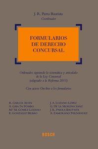 Imagen de Formularios de Derecho Concursal