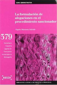 Imagen de La formulación de alegaciones en el procedimiento sancionador
