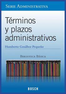 Imagen de BBB. Términos y plazos administrativos (Suscripción)