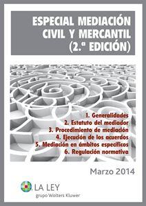 Imagen de Especial Mediación Civil y Mercantil (2.ª edición)