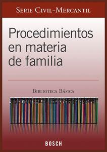 Imagen de BBB. Procedimientos en materia de familia (Suscripción)