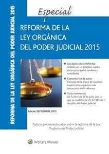 Imagen de Especial Reforma de la Ley Orgánica del Poder Judicial