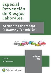 Imagen de Especial Prevención accidentes de trabajo in itinere y en misión